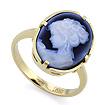 Золотое кольцо с камеей SLK-0285-450 весом 4.07 г  стоимостью 22700 р.