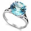Серебряное кольцо с топазом SL-2160-410 весом 4.1 г  стоимостью 6200 р.